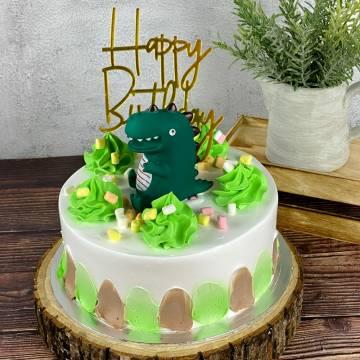 RAWR-some Dinosaur Cake