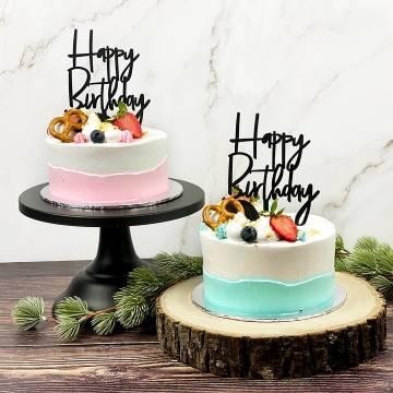 Pastel Minimalist Cake