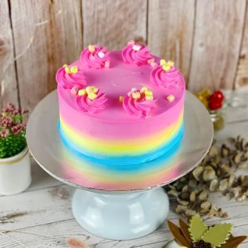 Fabulous Rainbow Cake
