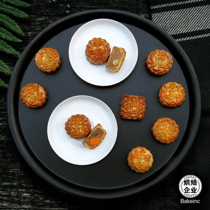 Mini Traditional Baked Mooncakes